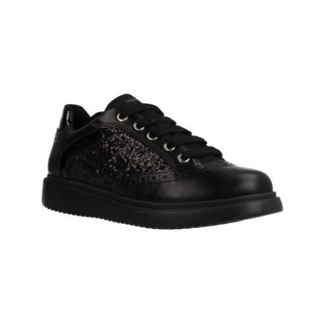Geox J THYMAR GIRL girls's Children's Shoes (Trainers) in Black