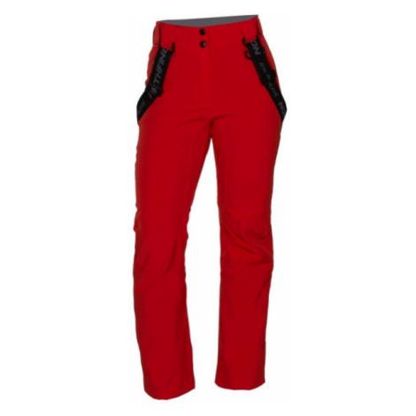 Northfinder TODFYSEA red - Women's ski trousers
