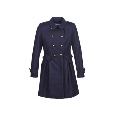 Naf Naf AIRINA women's Coat in Blue
