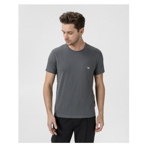 Emporio Armani Undershirt 2 Piece Black Grey