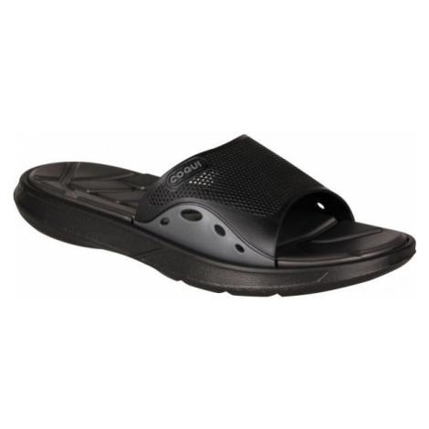 Coqui MELKER black - Men's slippers
