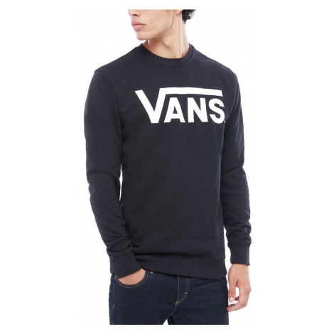sweatshirt Vans Classic Crew II - Black/White - men´s