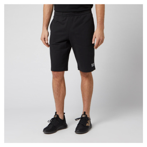 Emporio Armani EA7 Men's Sweat Short - Black - Black