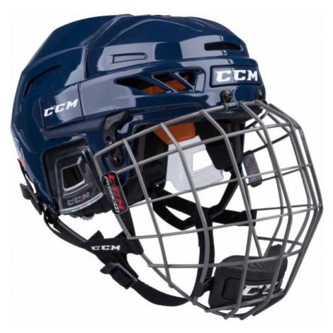 CCM FITLITE 90 COMBO SR blue - Hockey helmet