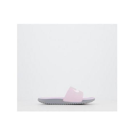 Nike Kawa Kids Slide ICED LILAC WHITE PARTICLE GREY