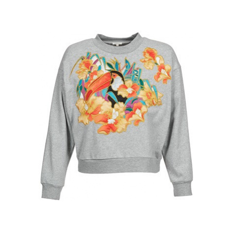 Manoush TOUCAN women's Sweatshirt in Grey