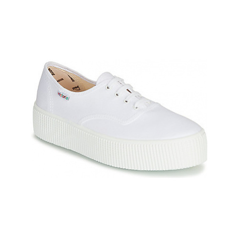 Victoria 1915 DOBLE LONA women's Shoes (Trainers) in White