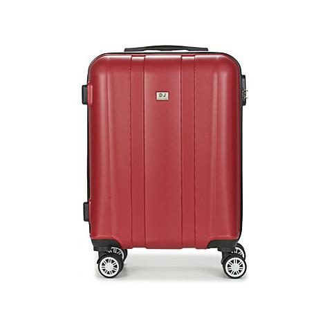 David Jones CHAUVETTO 40L men's Hard Suitcase in Red