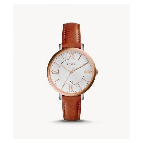 Fossil Women's Jacqueline Cedar Leather Watch