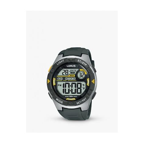 Lorus Children's Digital Plastic Strap Watch
