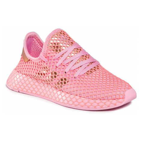 shoes adidas Originals Deerupt Runner - True Pink/Copper Metallic/Glory Pink - women´s