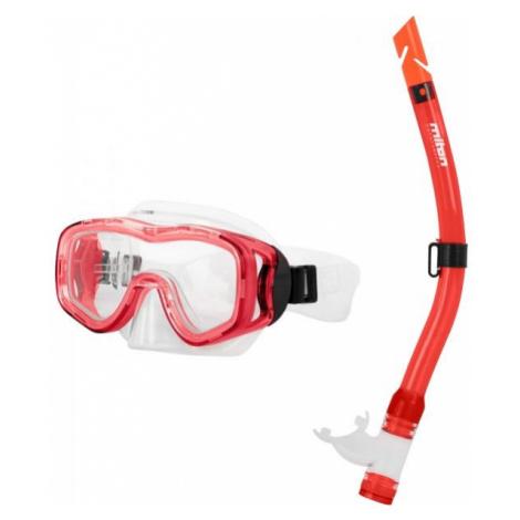Miton PROTEUS RIVER red - Children's diving set