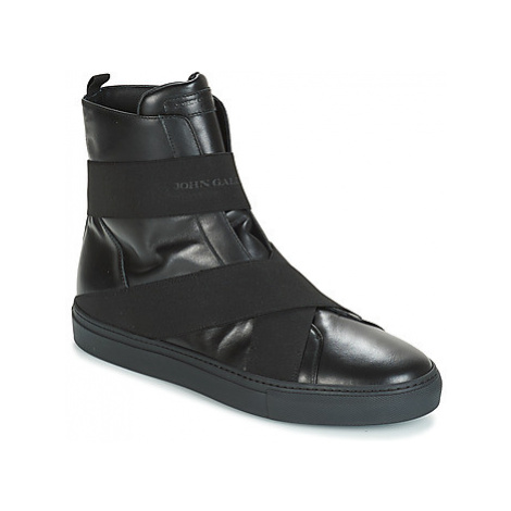 John Galliano ROBOT A men's Shoes (High-top Trainers) in Black