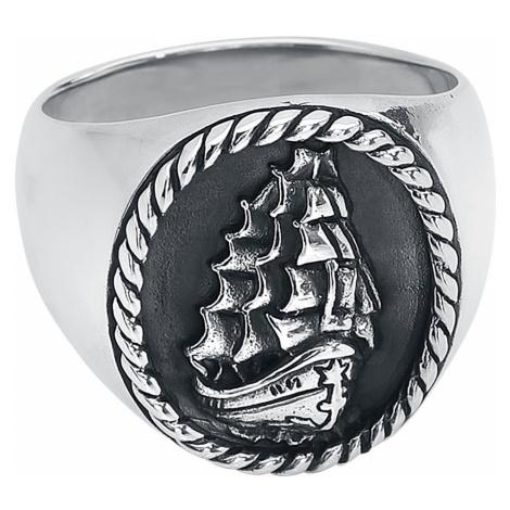 EtNox Premium - Three-Master - Ring - silver-coloured