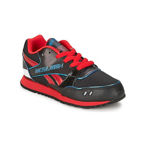 Reebok Classic CARS NEON RUNNER boys's Children's Shoes (Trainers) in Black