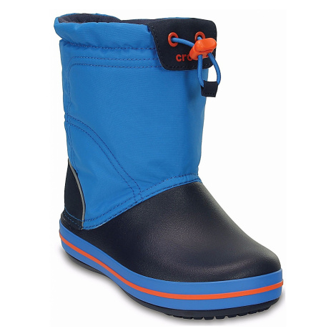 shoes Crocs Crocband Lodgepoint Boot - Ocean/Navy - unisex junior