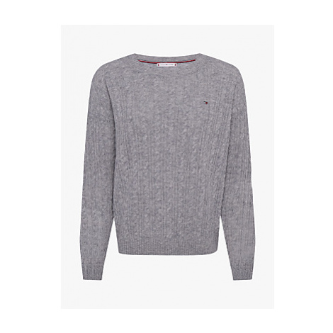 Tommy Hilfiger Crew Neck Cable Knit Jumper