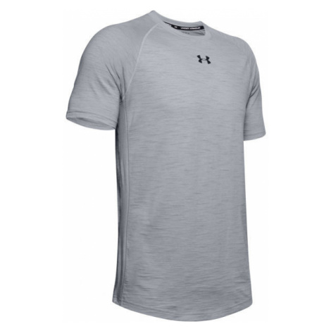 Under Armour CHARGED COTTON SS gray - Men's T-Shirt