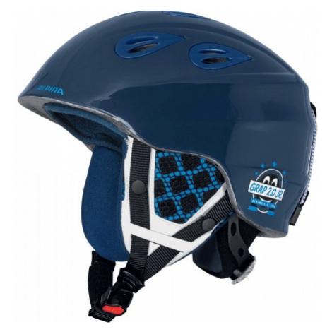 Alpina Sports GRAP 2.0 JR blue - Kids' ski helmet