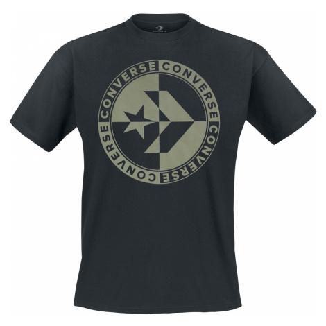 Converse - Checkered Star Chevron Tee - T-Shirt - black