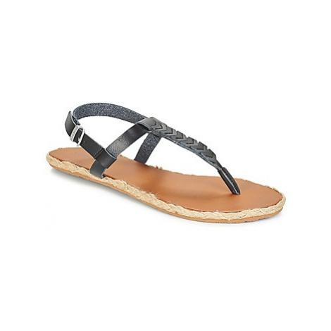 Volcom TRAILS SNDL men's Flip flops / Sandals (Shoes) in Black