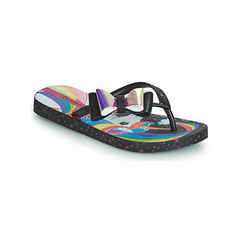 Ipanema IPANEMA BARBIE FANTASIA K girls's Children's Flip flops / Sandals in Black