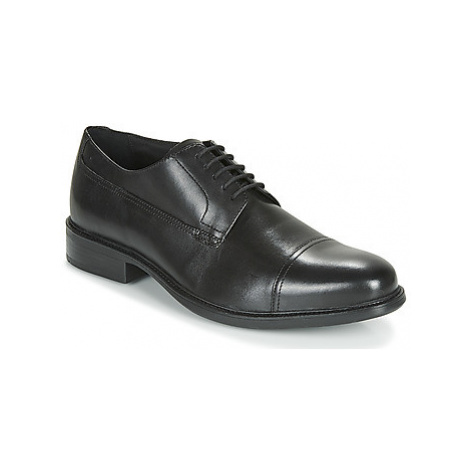 Geox UOMO CARNABY men's Casual Shoes in Black
