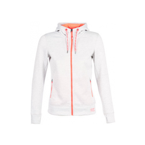 Superdry STORM HERITAGE ZIPHOOD women's Sweatshirt in White