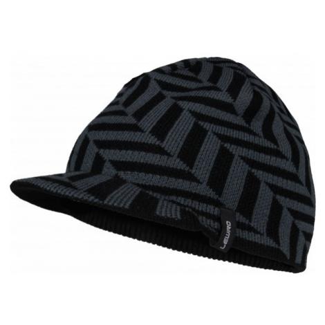 Lewro LUKE black - Boys' knitted beanie