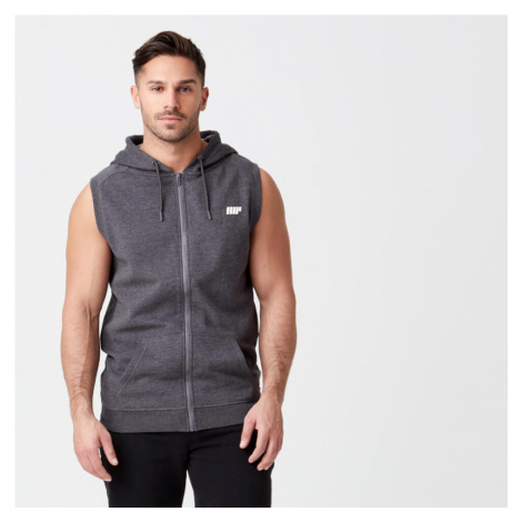 Tru-Fit Sleeveless Hoodie - Charcoal Charcoal Myprotein