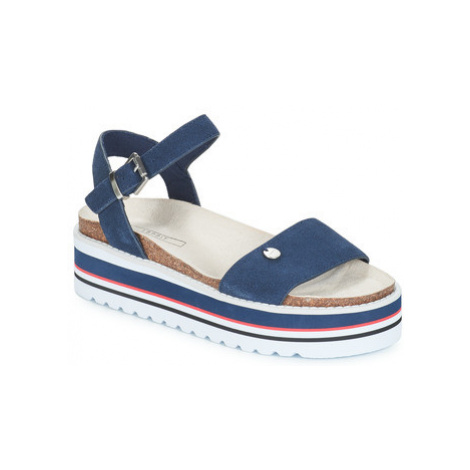 Esprit Abia Plat Sanda women's Sandals in Blue