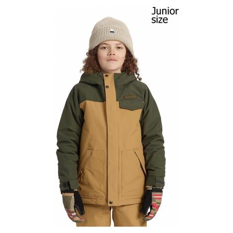 jacket Burton Dugout - Wood Thrush/Forest Night - boy´s