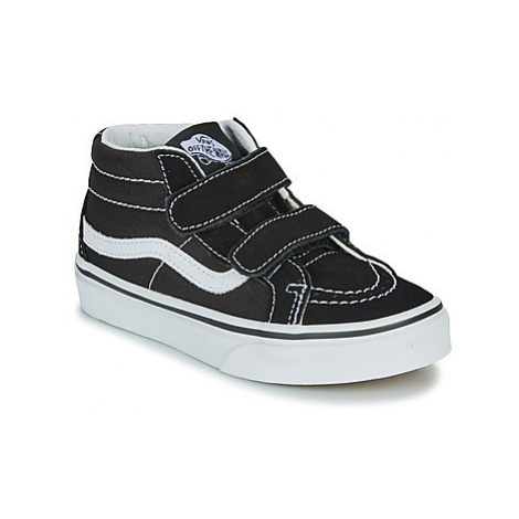 Vans UY SK8-MID REISSUE V girls's Children's Shoes (High-top Trainers) in Black