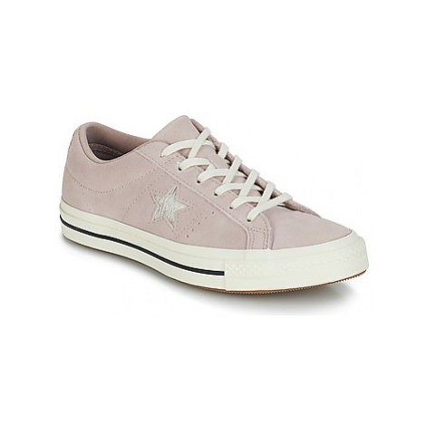 Converse ONE STAR OX women's Shoes (Trainers) in Beige