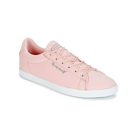 Le Coq Sportif AGATE LO CVS/METALLIC women's Shoes (Trainers) in Pink