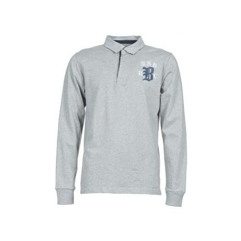 Serge Blanco MATO men's Polo shirt in Grey