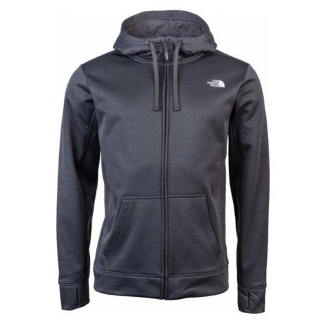 The North Face SURGENT FZ HD dark gray - Men's sweatshirt