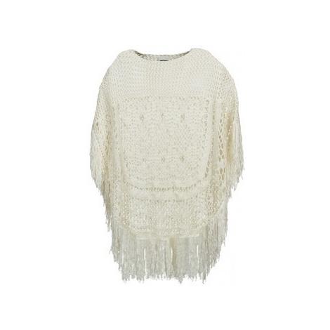 Noisy May CROCHET women's Sweater in White