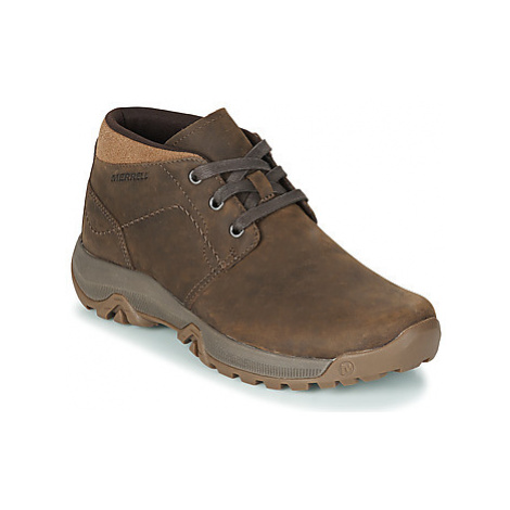 Merrell ANVIK PACE CHUKKA men's Mid Boots in Brown
