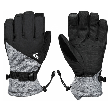 glove Quiksilver Mission - KPG2/Gray/Simple Texture - men´s