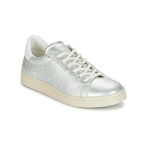 Esprit GUANDA LU women's Shoes (Trainers) in Silver