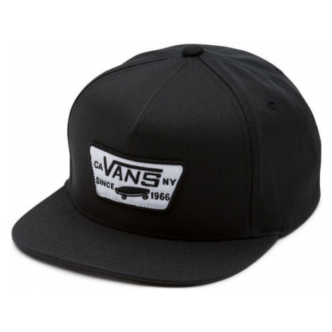Vans FULL PATCH SNAPBACK black - Men's baseball cap