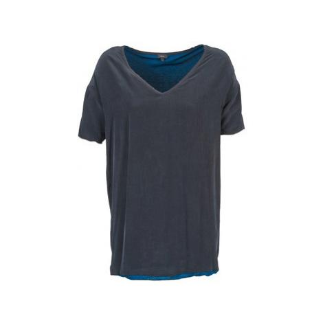 Joseph V NECK women's Tunic dress in Blue