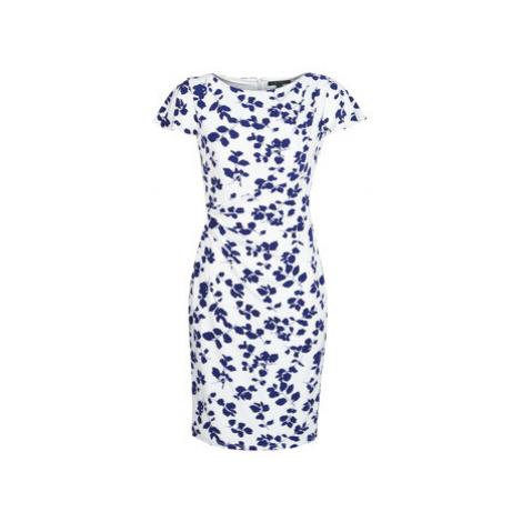 Lauren Ralph Lauren SHORT SLEEVE JERSEY DAY DRESS women's Dress in White
