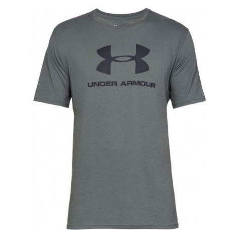 Under Armour SPORTSTYLE LOGO SS gray - Men's T-shirt