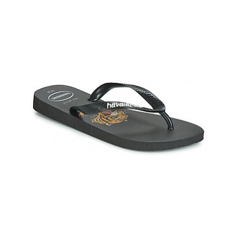 Havaianas TOP WILD men's Flip flops / Sandals (Shoes) in Black