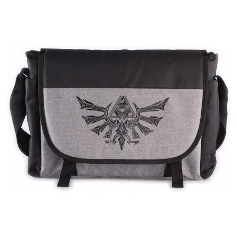 The Legend Of Zelda - Tri-Force Logo - Messenger bag - black-grey