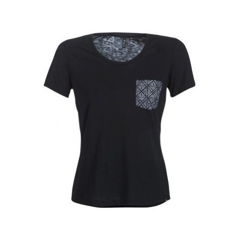 Rip Curl BEAUTY POCKET T women's T shirt in Black