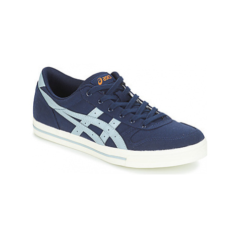 Asics AARON CANVAS women's Shoes (Trainers) in Blue