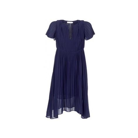 See U Soon 8121119 women's Dress in Blue
